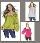 Very Easy Vogue 8581 Tunic Top Blouse Pattern V8581 - Three Views!