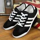 New Fashion British Men's Mesh Breathable Lace Up Shoes Net Casual Sneakers