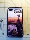 Silicone Rubber Hooked on Quack Call  Duck  Hunting Iphone 4  4S &  5 case