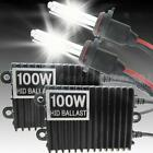 NEW 100W AC HID XENON DIGITAL CONVERSION KIT H1 4300K 5000K 6000K FHRG