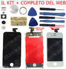 SCHERMO LCD DISPLAY RETINA VETRO TOUCH SCREEN FRAME x APPLE IPHONE 4 4S 4G AAA+