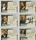 Jericho Season 1 Autograph And Pieceworks Card Selection NM Inkworks 2007
