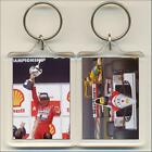 F1 Champion Drivers 1975 to 1999. Keyring Bag Tag. All Drivers Available.