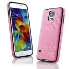 Luxury Alligator Slim Pattern PU Hard Case Cover For Samsung Galaxy S5 SV i9600