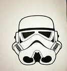 Stormtrooper Helmet Precision Cut Vinyl Decal Car Bumper Window Storm Trooper