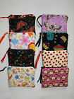 Handmade coin purse Wallet/ Mini make up bag Owl Strawberry Butterfly Gift Music