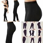 Butt LIfter Leggings Medium Waist & Tummy Control, Black Slender  Levanta Cola