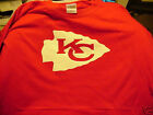 t-shirt Kansas City Chiefs 5 sizes lots colors Grey black white pink red yellow