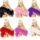 Feather Boa Hen Night / Party Fancy Dress Accessory Pink Black Purple Red White