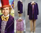 Charlie and the Chocolate Factory Gene Wilder-Willy Wonka Outfit Cosplay Costume
