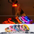 New Design LED Pet Dog Puppy Flash Light Safe Adjustable Collar Glow Necklace