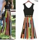 SUMMER NEW SIZE 6-18 WOMENS LADIES CASUAL MAXI LONG EVENING COCKTAIL PARTY DRESS