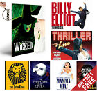 LONDON'S TOP MUSICALS THEATRE POSTER OPTIONS A4 Photo Art Print Home Wall Decor