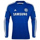 ADIDAS CHELSEA FC LS HOME JERSEY 2014/15 BARCLAYS ENGLISH PREMIER LEAGUE.
