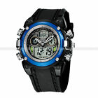 Kyпить Black Cool OHSEN LED Digital Analog Waterproof Sport Quartz Watch Wrist Mens Boy на еВаy.соm