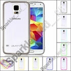 Samsung Galaxy S5 Thin Crystal Clear Transparent TPU Bumper