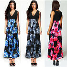 Ladies Womens Maxi Dress Summer Long Skirt Evening Cocktail Party PLUS TOP 6-20