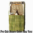 2 New PROCLUB men's underwear Trunk Boxer Shorts PRO CLUB Size 3XL