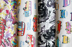 Designer Fabric - Quality Upholstery, Curtain Cotton Fabric, Modern & Trendy