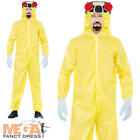 Breaking Bad Adult Chemical Suit Halloween Fancy Dress Heisenberg Mens Costume
