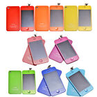 LCD Screen Colour Conversion Kit Touch Digitizer Back Battery Cover iPhone 4 4S