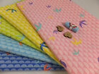 SB Swallows 100% Cotton Fabric birds dressmaking per metre