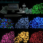 100/200 LED Solar String Fairy Lights Garden Christmas Xmas Party Outdoor Indoor