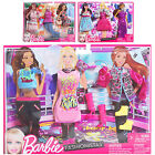 Barbie Dolls Clothing Set With 3 Stylish Outfits & Accessories Fashionistas 3+
