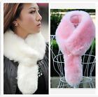 New women's imitation fox fur small tail scarves Hat shawls fur fake fur collar