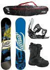 Lamar Hunter Snowboard+FLOW Flite 2 Bindings+Flow Vega BOA Boots+Flow BAG NEW