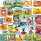 Disney postage stamps collection of 50 all different mnh-large-medium size