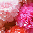 """6"""" Wedding Tissue Paper Pom Poms Party Xmas Home Outdoor Flower Ball Decoration"""