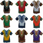 Poncho Tribal Dashiki African Mexican Festival Hippie Hippy Cotton T-Shirt Top