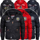 Geographical Norway Cincinatti Herren Polo Steppjacke Winterjacke Parka Jacke
