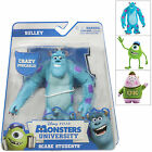 Scare Students Poseable Monsters University Movie Figure Sulley Mike Or Squishy