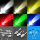 3mm 5mm 10mm Round top White Red Blue Green Yellow Warm Lamp Light LED