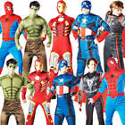 Marvel Superhero Mens Fancy Dress Avengers Comic Book Character Adults Costume