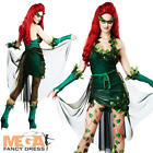 Poison Ivy Ladies Fancy Dress Villian Womens Halloween Adult Sexy Costume Outfit