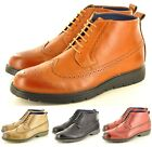 New Men's Casual/Formal Desert Ankle Brogue Boots Shoes In UK Size 6 7 8 9 10 11