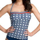 NEW Freya Swimwear Hello Sailor Bandeau Tankini Top 34646 Lagoon Select Size