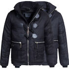 Ganster Unit Kinder Duffle Steppjacke Winterjacke Winter Stepp Jacke Baker Boy