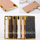 For Sony Xperia Z3 Luxury Bling Chromed PC Hard Back Cover Skin Case