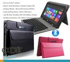 Leather Cover with pouch + Bluetooth Keyboard for Microsoft Surface RT/Pro 1, 2