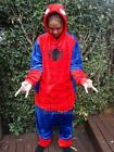 Adult Onesie Spiderman Unisex Animal Kigurumi Costume Party Jumpsuit Pajama