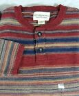 Ralph Lauren Denim Supply Indian Blanket Southwestern Henley Sweater S M L XL