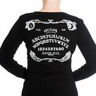Hell Bunny Ouija Board Cardigan Retro Ghost Rockabilly Gothic Horror Halloween