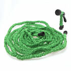 New Flexible Latex 25 50 75 100 Feet Expanding Garden Water Hose & Spray Nozzle