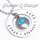 Personalised Stainless Steel Name Or Word Necklace Birthday Valentine Gift D164