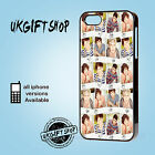 NEW DESIGN ONE DIRECTION  PHONE CASE APPLE IPHONE 4-4S/5/5S/5C & SAMSUNG S3/S4
