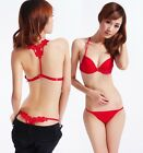 Women's New Style Chic Girls Sexy Lace Beauty Back Underwear Push up Bra Sets
